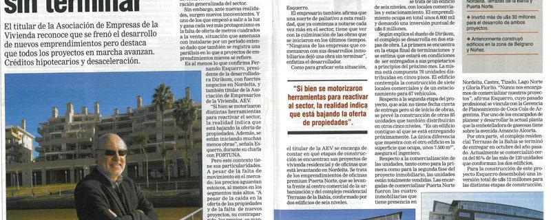 Revista Fortuna, Junio de 2009